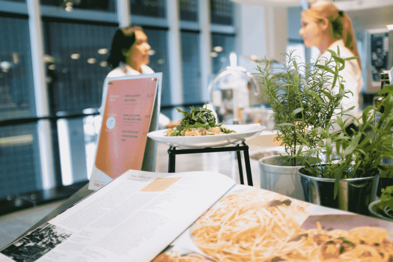 Unilever Rotterdam headquarter restaurant