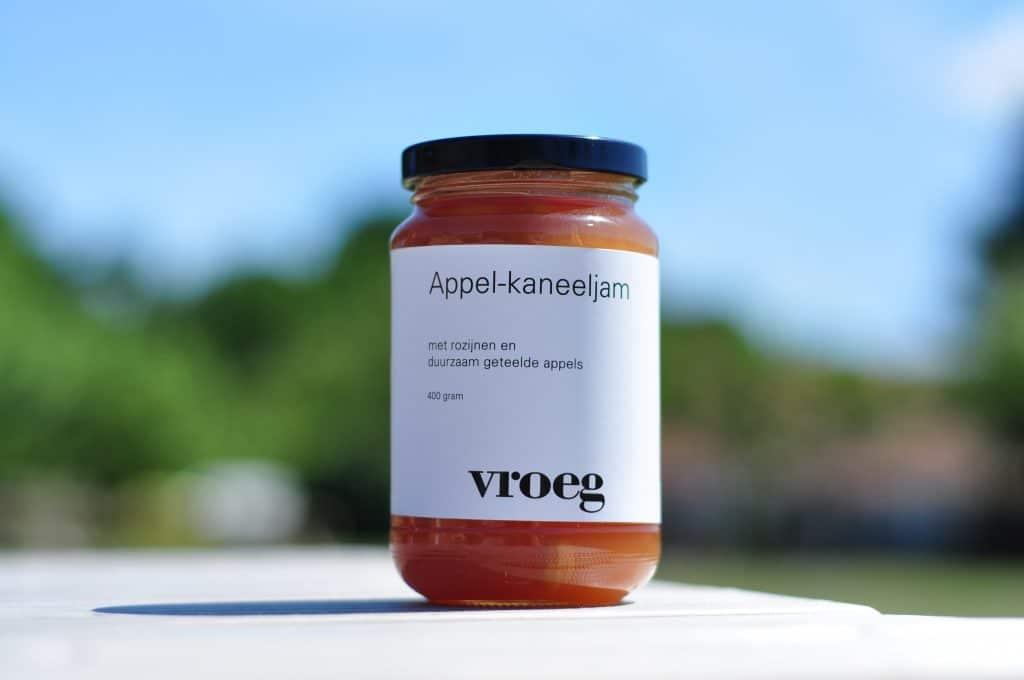 Design verpakkingen vroeg foodconcept