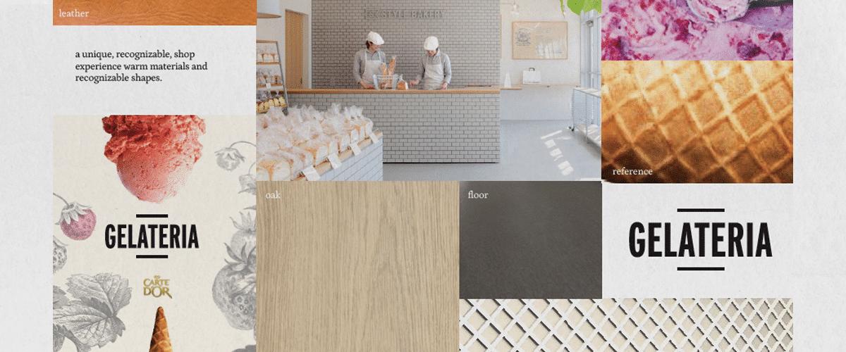 project enbiun-gelateria-ijswinkel moodboard 2