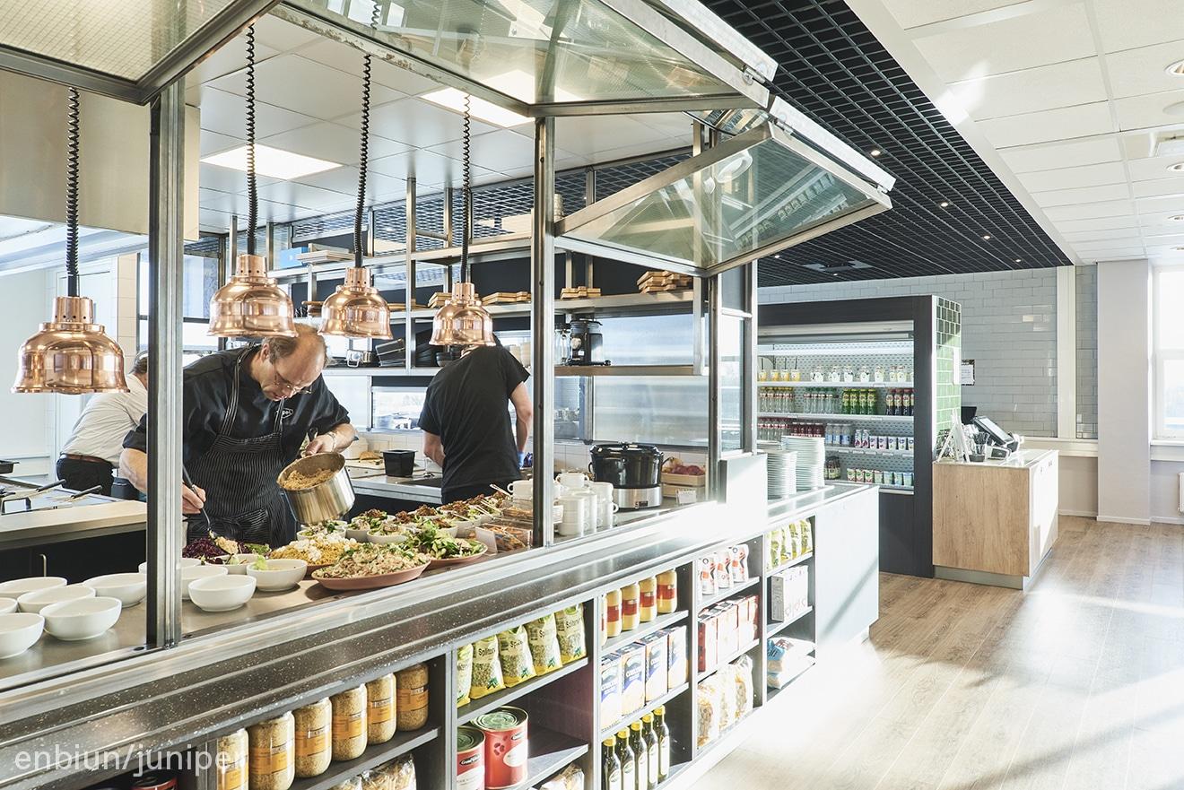 food concept enbiun juniper interior Amsterdam