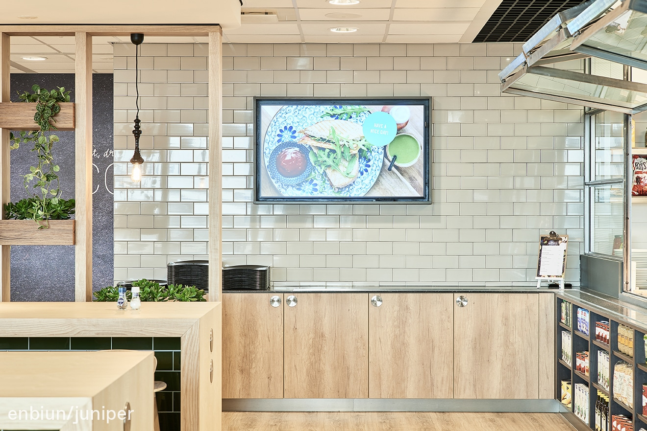 food concept enbiun juniper restaurant design interior open kitchen