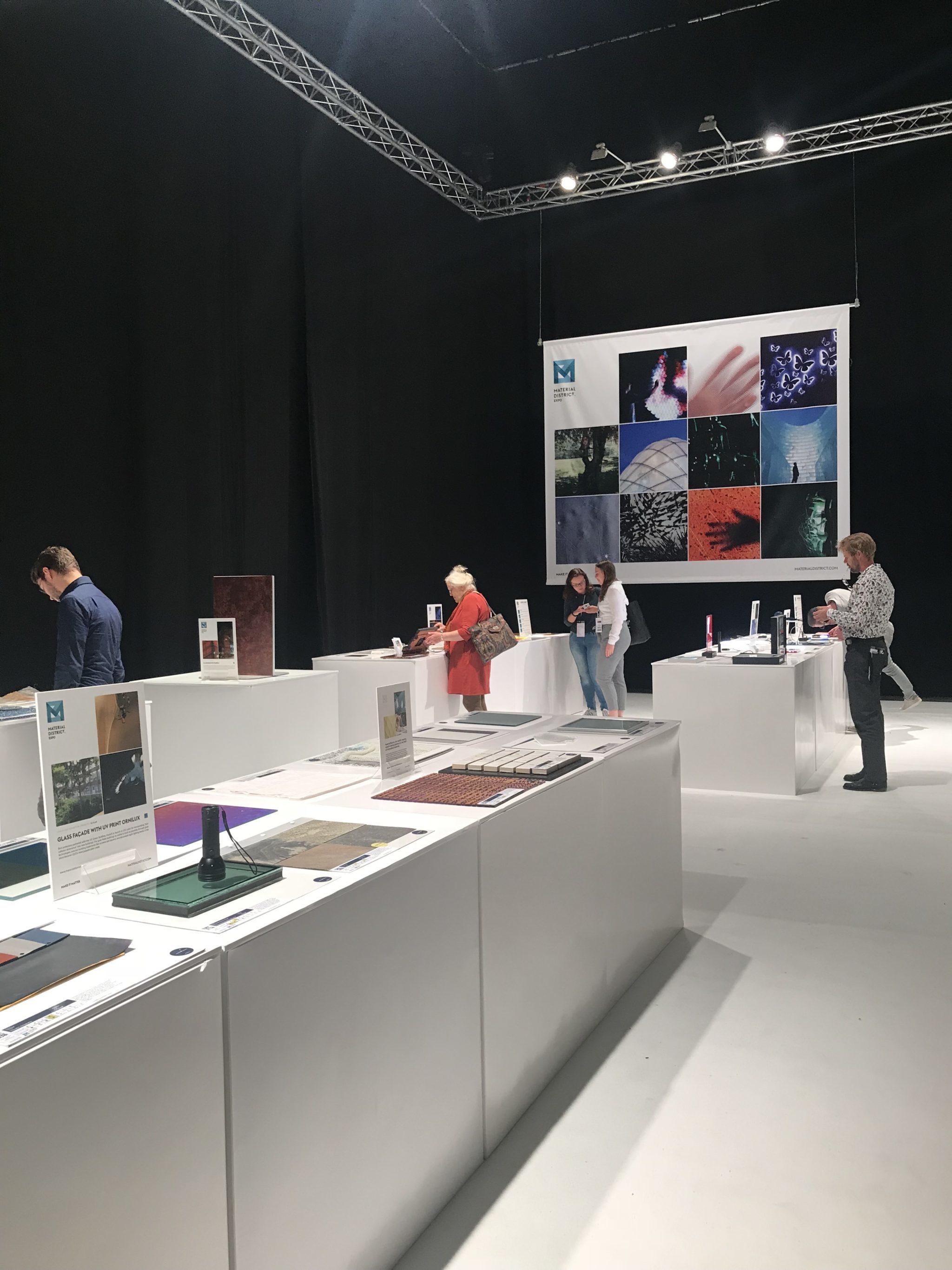 Meer informatie over het tentoonstelling op MaterialDistrict.
