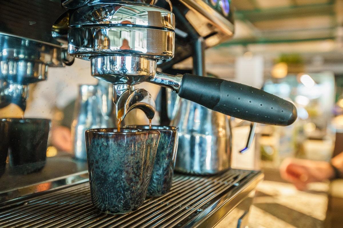 Tycho Muller CBRE the Core headquarter HQ office coffee barista espresso