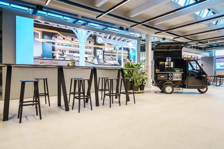 Tycho Muller CBRE the Core headquarter HQ office studio cafe