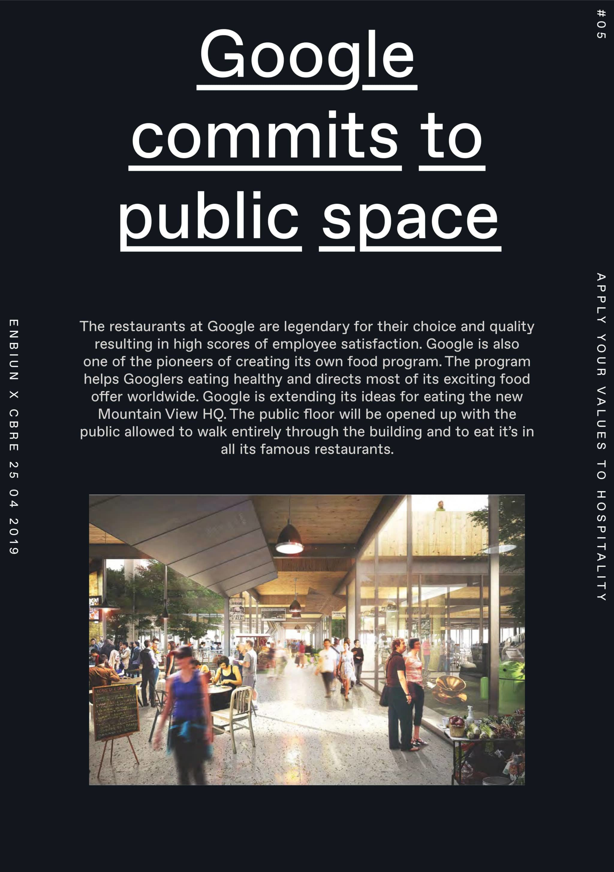core workshop example public space