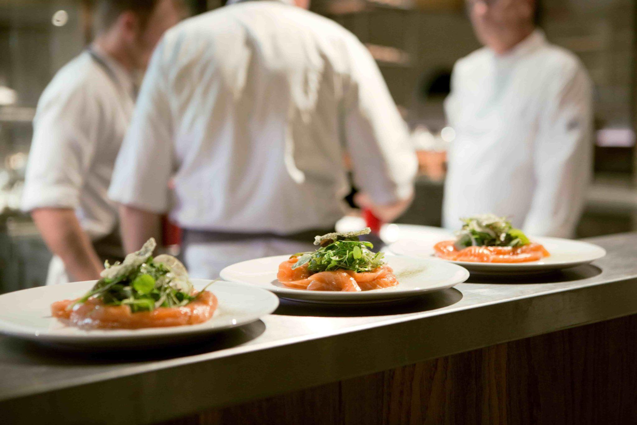 vroeg Utrecht Bunnik restaurant chef zalmgerecht kok keuken