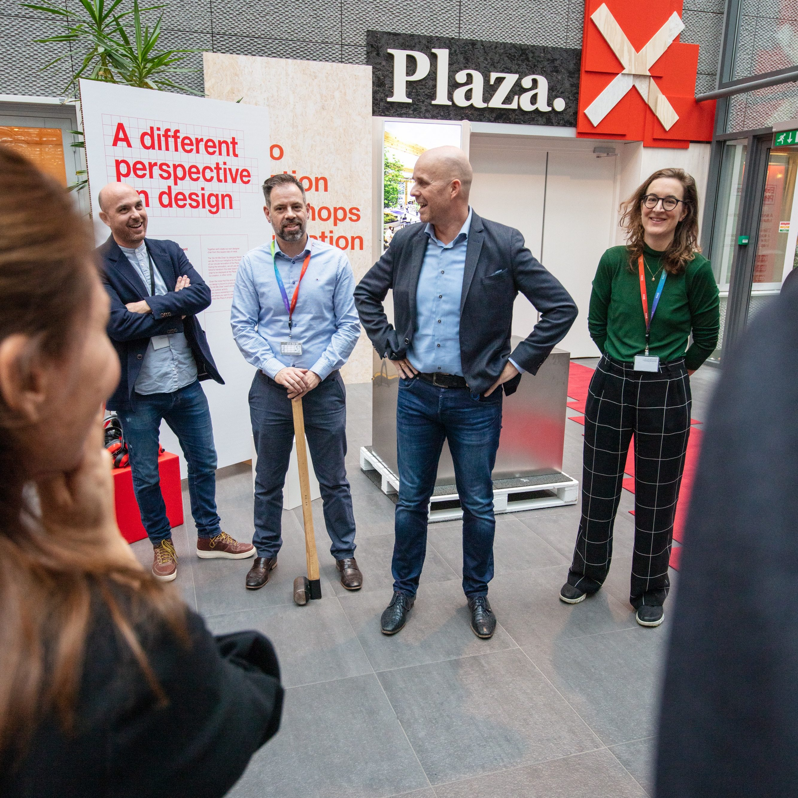 opening expo program in Amsterdam for PwC