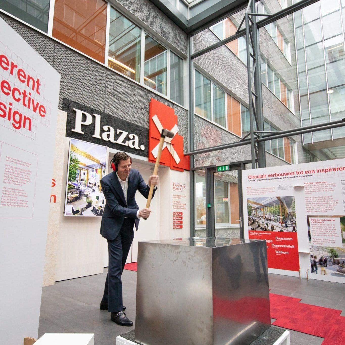 opening plaza x pwc Amsterdam expo