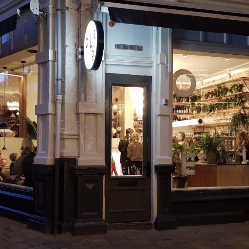 visit the new restaurant oleg pelmeni bar amsterdam lunch breakfast diner